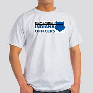 Remember Indiana Officers Light T-Shirt