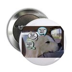 """""""Dog thoughts"""" Button"""