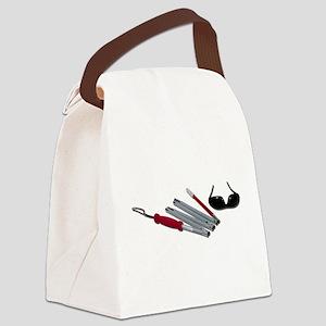 FoldedCaneBlindGlasses051211 Canvas Lunch Bag