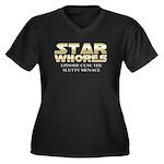 Star Whores episode cum Women's Plus Size V-Neck D