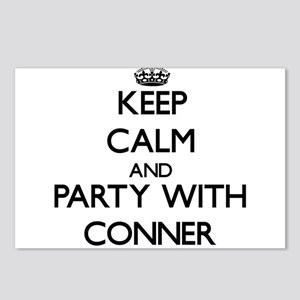 Keep calm and Party with Conner Postcards (Package