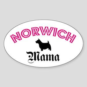 Norwich Mama Oval Sticker