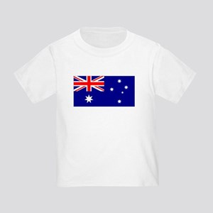 Australia Flag Toddler T-Shirt