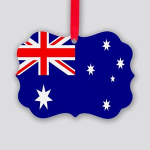 Australia Flag Picture Ornament
