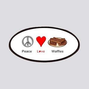 Peace Love Waffles Patches