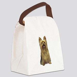 Silky Terrier (B) Canvas Lunch Bag