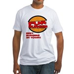Fur Burger Fitted T-Shirt