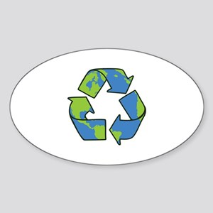 Recycle Symbol Sticker
