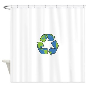 Recycled Shower Curtains