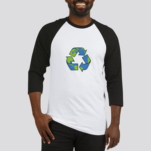 Recycle Symbol Baseball Jersey