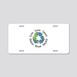 Live.Love.Learn.Recycle.Reuse.Reduce Aluminum Lice