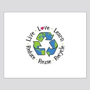 Live.Love.Learn.Recycle.Reuse.Reduce Posters