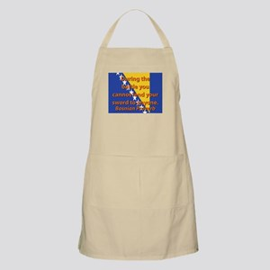 During The Battle You Cannot Lend Light Apron