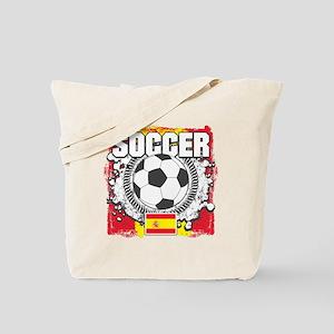 Spain Soccer Tote Bag