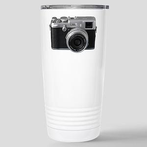 Vintage Camera Stainless Steel Travel Mug