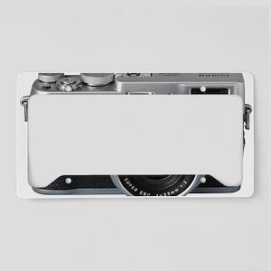 Vintage Camera License Plate Holder