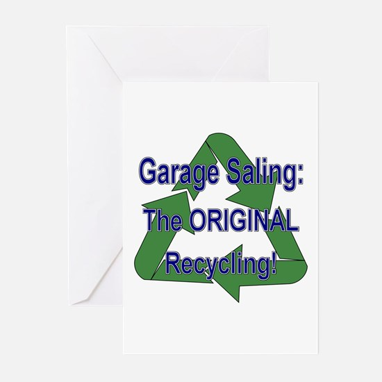 Tho ORIGINAL Recycling! Greeting Cards (Package of