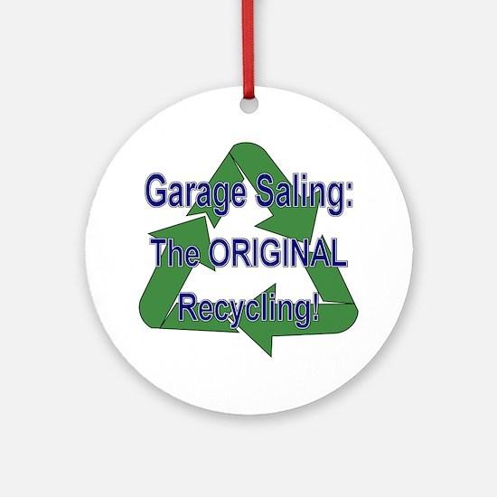 Tho ORIGINAL Recycling! Ornament (Round)