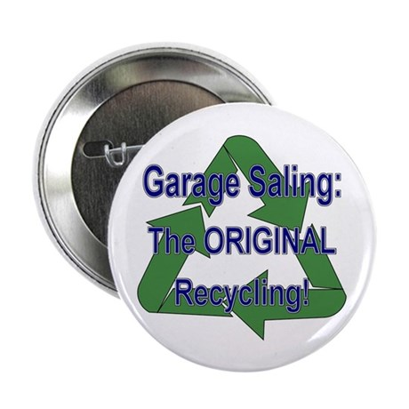 """Tho ORIGINAL Recycling! 2.25"""" Button (100 pack)"""