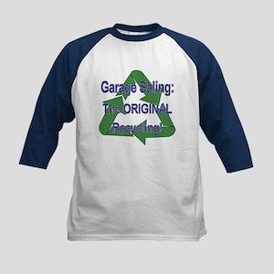 Tho ORIGINAL Recycling! Kids Baseball Jersey