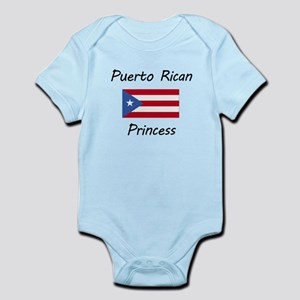 Puerto Rican Princess Body Suit