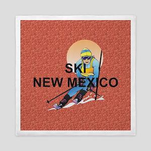 Ski New Mexico Queen Duvet