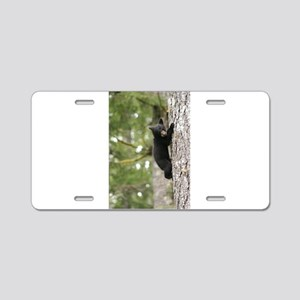 Bear Cub Aluminum License Plate