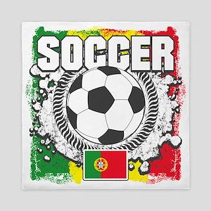 Soccer Portugal Queen Duvet