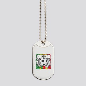 Soccer Portugal Dog Tags