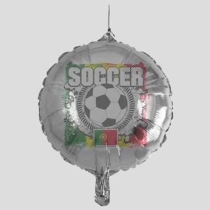 Soccer Portugal Mylar Balloon
