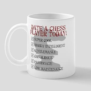 Chess : Date A Chess Player Mug