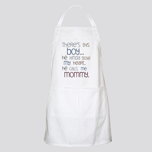 Baby Boy Quote for Mom Apron