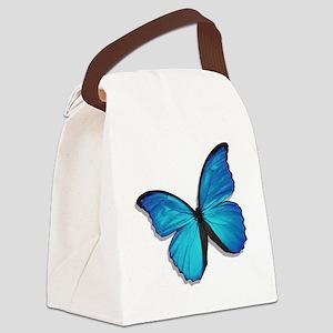 bluemorph4T Canvas Lunch Bag