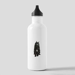 Bouvier (black) Stainless Water Bottle 1.0L