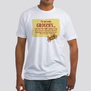 Grouchy Crab Fitted T-Shirt