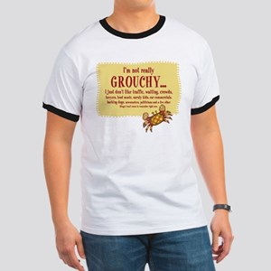 Grouchy Crab Ringer T