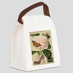 modern pairs fashion stilettos roses Canvas Lunch