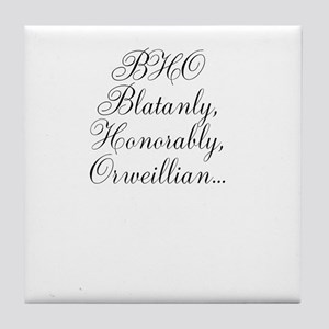 BHO Tile Coaster