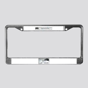 """Spay and Neuter"" License Plate Frame"