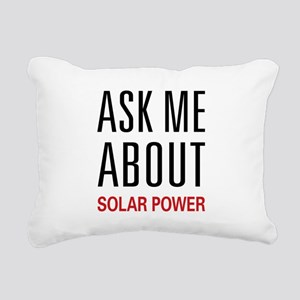 asksolar Rectangular Canvas Pillow