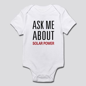 Ask Me About Solar Power Infant Bodysuit
