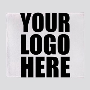 Your Logo Here Personalize It! Throw Blanket