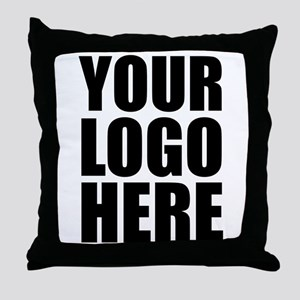 Your Logo Here Personalize It! Throw Pillow