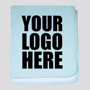 Your Logo Here Personalize It! baby blanket