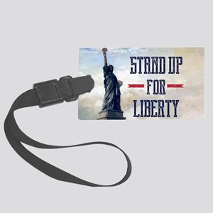 Stand Up for Liberty Large Luggage Tag
