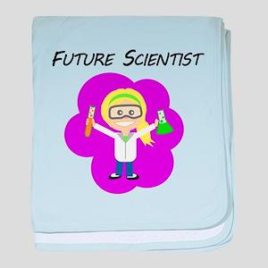 Future Scientist baby blanket