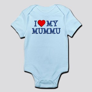 I Love My Mummu Body Suit