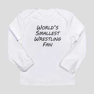 Worlds Smallest Wrestling Fan Long Sleeve T-Shirt