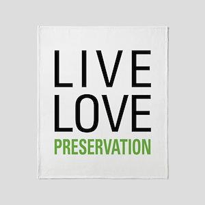 Preservation Throw Blanket