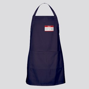 Name Tag Big Personalize It Apron (dark)